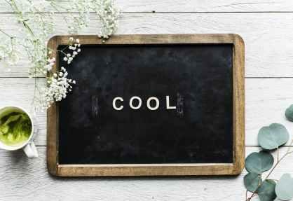 photo of blackboard